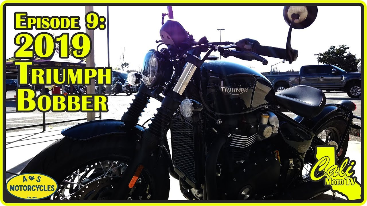 2019 Triumph Bonneville Bobber Review Interview With A Motorcycle