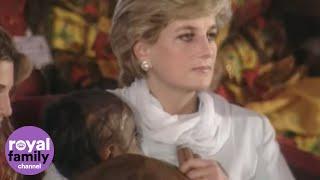 Princess Diana Visits Pakistan in 1996 and 1997 During Royal Visit