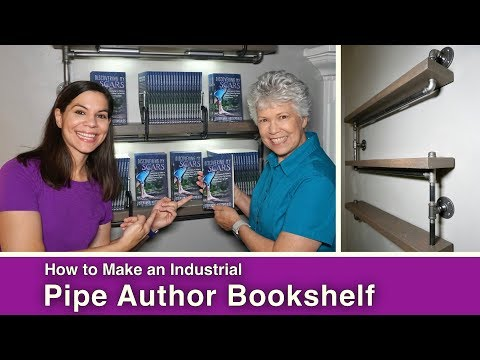 How to Make an Industrial Pipe Bookshelf
