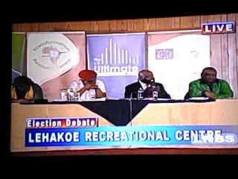 Election Debate In Lesotho - 2015