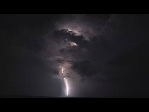 ⚡️ Heavy Thunder, Fierce Wind & Rain Sounds For Sleeping/Relaxing ~ Lightning Clap Storm Ambience