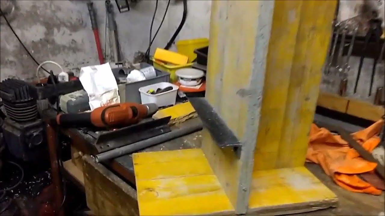 Trapano A Colonna Con Motore Lavatrice Youtube
