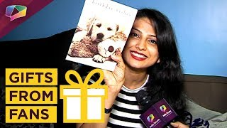 Rucha Hasabnis Received Gifts From Her Fans | Exclusive