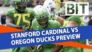 Stanford vs Oregon | Sports BIT Clip | College Football Odds & Picks