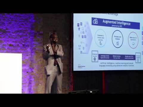 """Empower Developers with HPE Machine Learning and Augmented Intelligence"", Dr. Abdourahmane Faye"