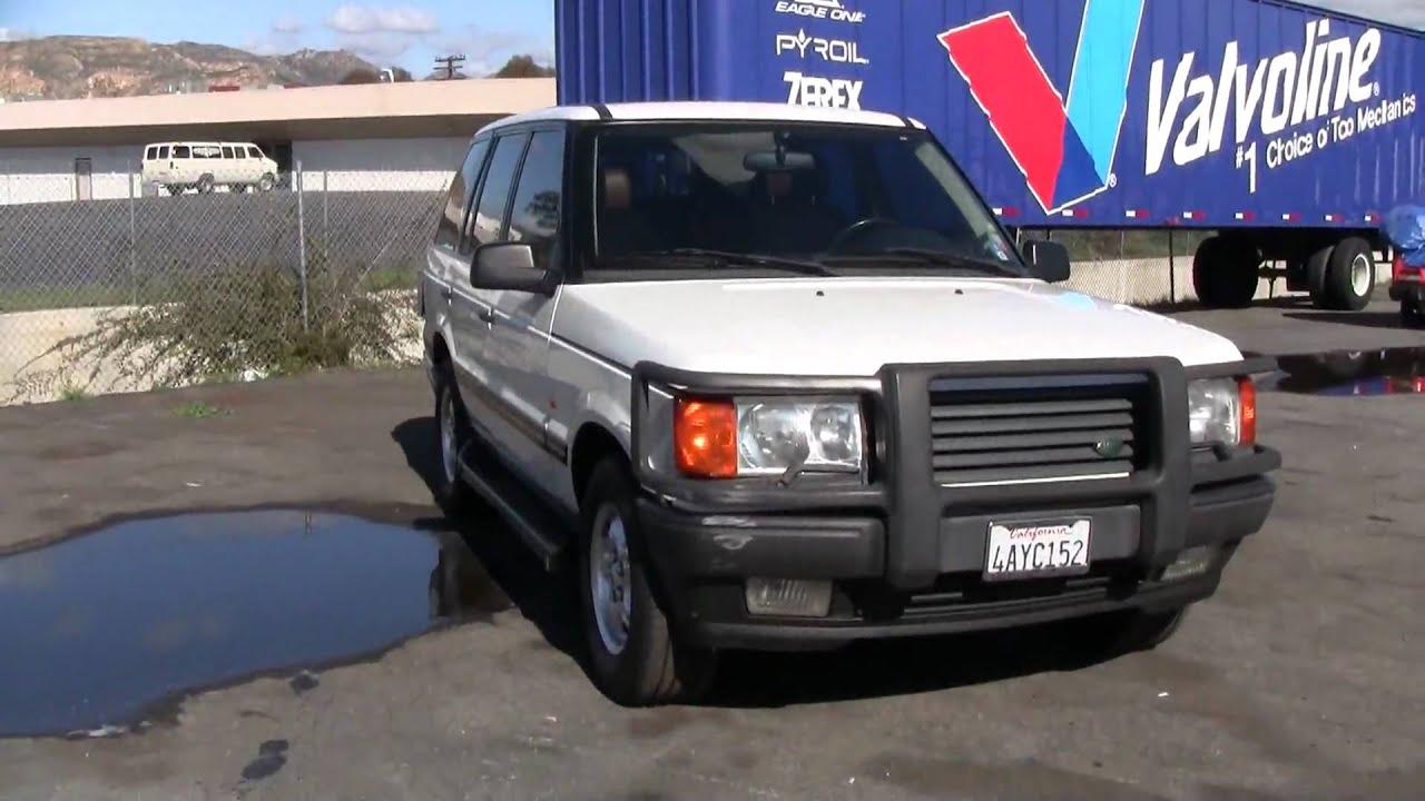 1998 range rover se 4x4 land cruiser suv clean low mile for sale youtube. Black Bedroom Furniture Sets. Home Design Ideas