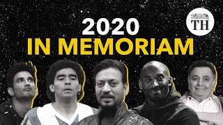 Celebrities who passed away in 2020