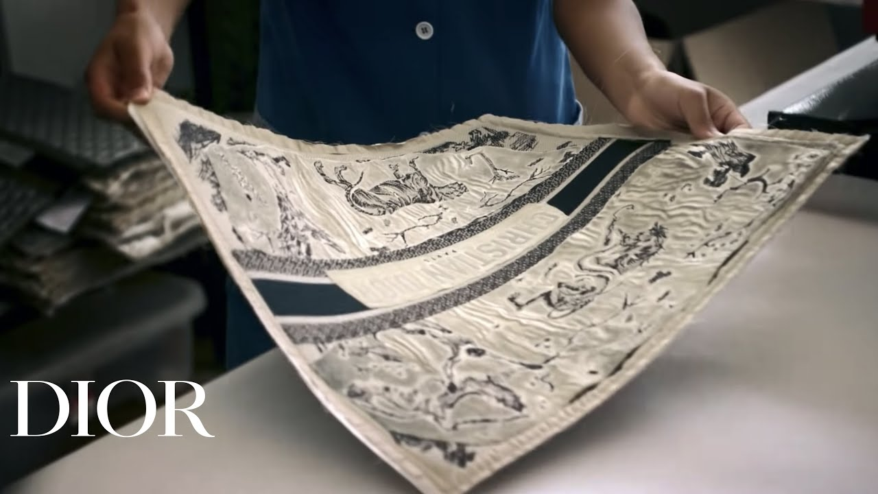 7d059378ee93 Toile de Jouy Dior Book Tote savoir-faire  vidéo - YouTube