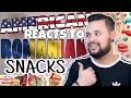American REACTS // Romanian Snacks
