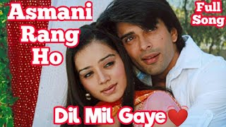 Asmani Rang Ho❤Arman 👩‍❤️‍👨 Riddhima Full Song from Dil Mil Gaye Serial On Star One Channel