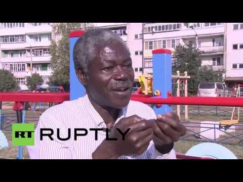 Russia: First black Russian deputy denounces US