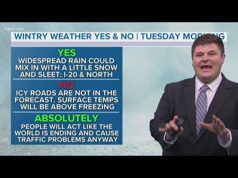 DFW Weather: Snow On Tuesday?