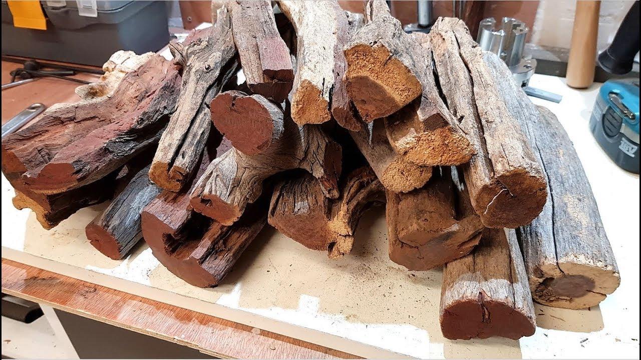 Woodturning - Camel Thorn Firewood (Kameeldoring)