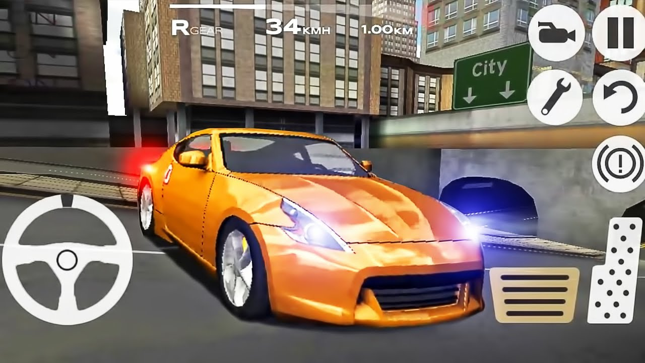 Driving Racing Car >> Extreme Car Driving Racing 3d Simulator New Car Android Gameplay