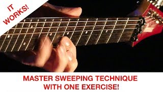 How to master sweeping technique (with just one exercise)!