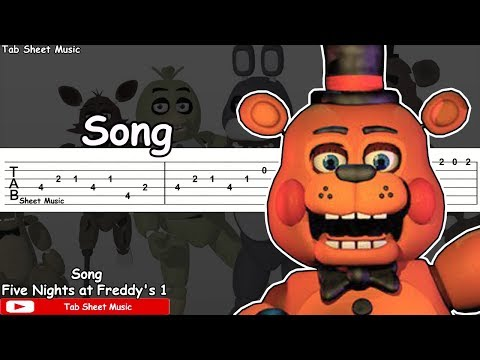 Five Nights at Freddy's 1 - Song Guitar Tutorial
