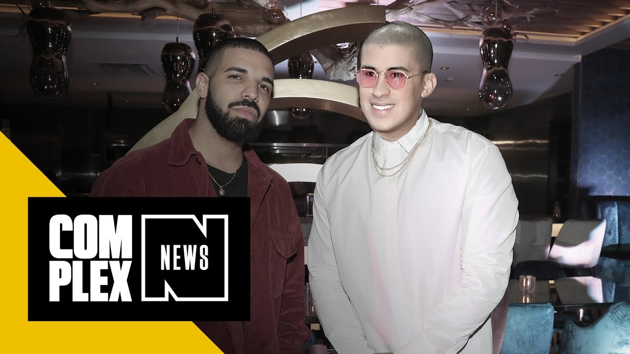 01fd30c43c5 Drake Is About to Sing in Spanish With Latin Trap Star Bad Bunny ...