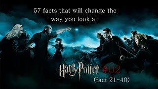 57 facts that will change the way you look at Harry Potter - #02