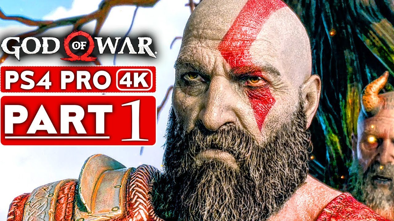 God Of War 4 Gameplay Walkthrough Part 1 4k Hd Ps4 Pro No Commentary