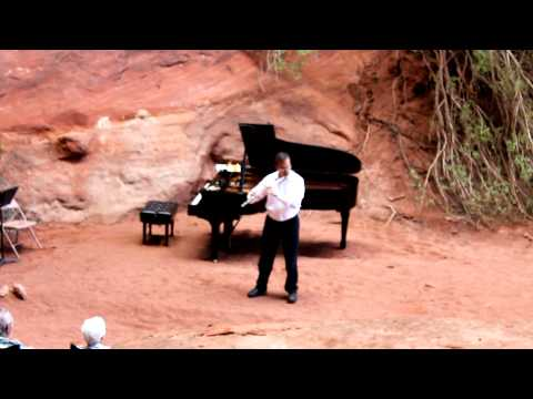 Syrinx by Claude Debussy for Solo Flute - Marco Granados at the Moab Music Festival