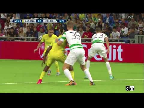 FC Astana vs Celtic FC (4:3) - Extended Highlights and Goals HD - 22.08.2017