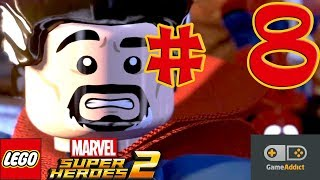 LEGO Marvel Super Heroes 2 Gameplay Part 8 | Walkthrough | Rune to Maneuver | No Commentary