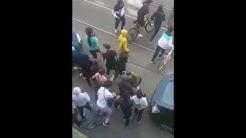 Belgische Polizei in Brüssel schlägt zurück