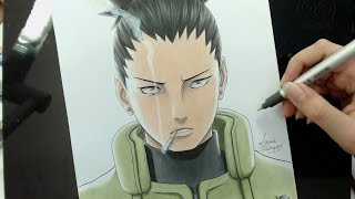 Speed Drawing - Nara Shikamaru (Naruto)