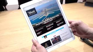 iPad Pro Hands-on! How does it compare to the Surface?