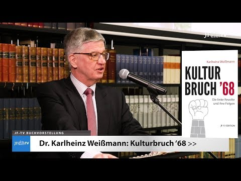 Kulturbruch '68 - Die linke Revolte und ihre Folgen (JF-TV Buchvorstellung)