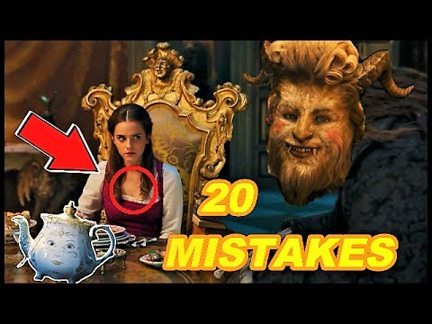 Thumbnail: 😱 20 BIGGEST MISTAKES - BEAUTY AND THE BEAST (2017)