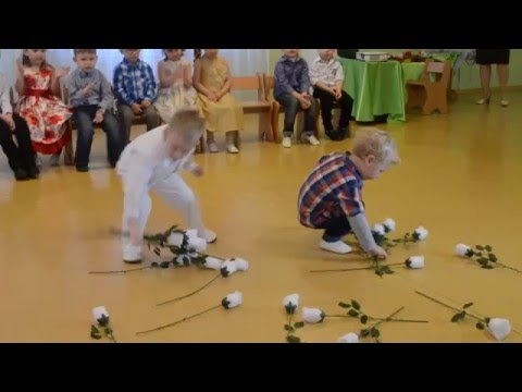 Игра с мальчиками, утренник 8 МАРТА, младшая группа