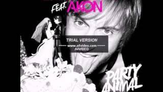 Akon Party Animal Instrumental / Karaoke (with hook)
