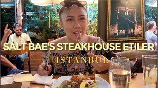 London Girl Eats At World Famous SALT BAE Nusr-et Restaurant