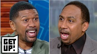 Stephen A.: Jalen is 'ridiculous' for saying Nuggets will win more games than Lakers | Get Up!