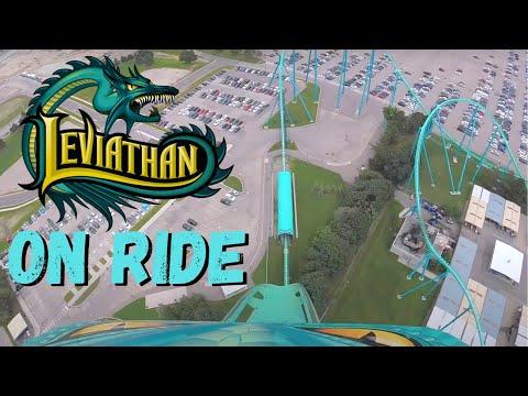 Leviathan on ride POV 1080p | Front Seat POV | Canada's Wonderland | Thrill Warrior
