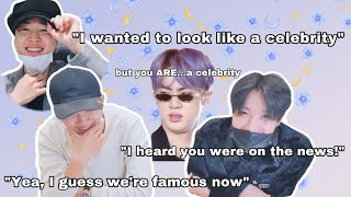 Someone remind BTS that they are big name celebrities... | humble king