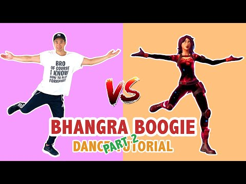 BHANGRA BOOGIE (Part 2) | Fortnite Dances In Real Life
