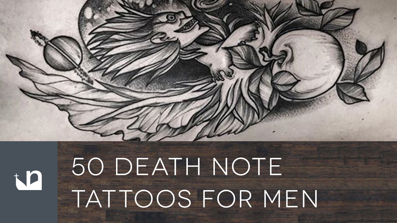 50 Death Note Tattoos For Men