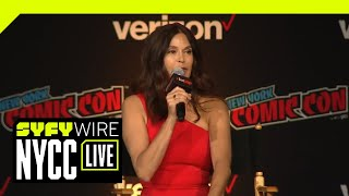 Lois Takes First Billing In The Lois & Clark 25th Anniversary Reunion | NYCC 2018 | SYFY WIRE