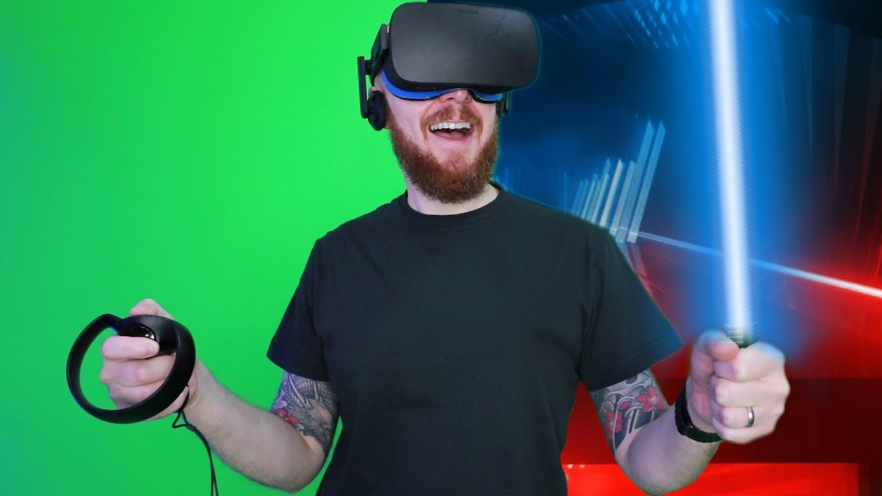 Anyone can Darth Maul Beat Saber with a double-bladed DIY adapter