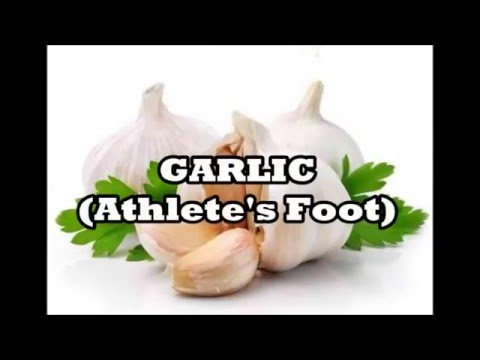 Herbs for Life: GARLIC (Athlete's Foot)