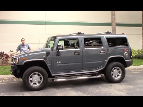 Thumbnail: The Hummer H2 Is the Most Embarrassing Vehicle You Can Drive