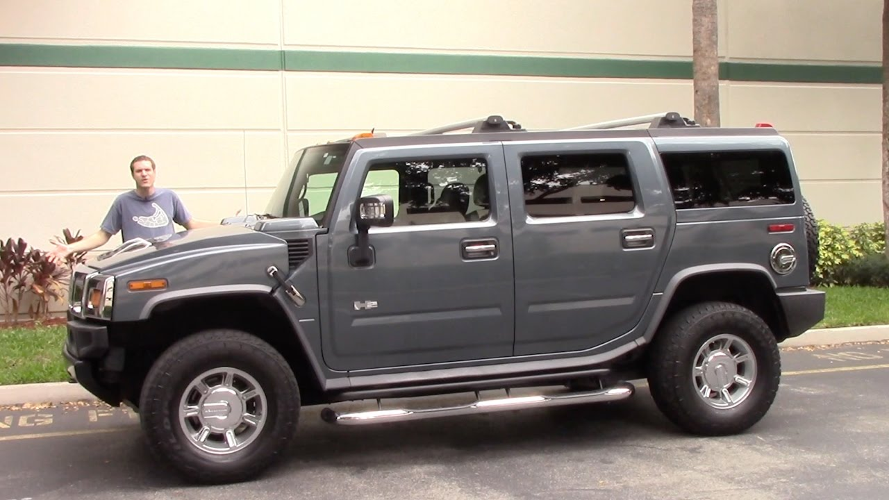 The Hummer H2 Is Most Embarring Vehicle You Can Drive