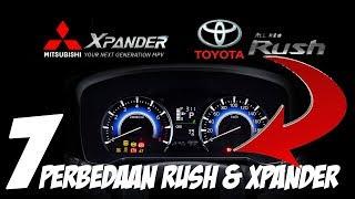 7 Perbedaan Mitsubishi Xpander dan Toyota All New Rush Yang Harus Diketahui