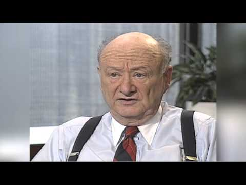 The Ed Koch Interview, 1993 - Part 1