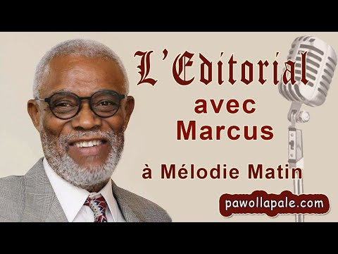 "L'EDITORIAL avec Marcus G ""Jovenel Code Pénal"" from YouTube · Duration:  13 minutes 15 seconds"
