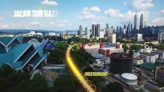 MRT Sungai Buloh- Serdang- Putrajaya (SSP) Line Alignment Video