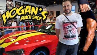 TOY HUNT!!! HULK HOGAN'S BEACH SHOP!!! WWE Wrestling Figure Fun #111
