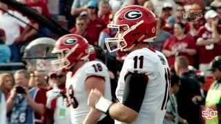 Numbers say Georgia QB Jake Fromm will have to use his arm to beat Alabama | ESPN